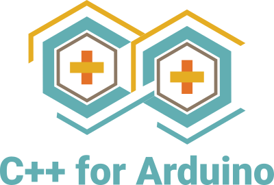 The logo of C++ for Arduino