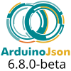 ArduinoJson 6.8.0: more with less!